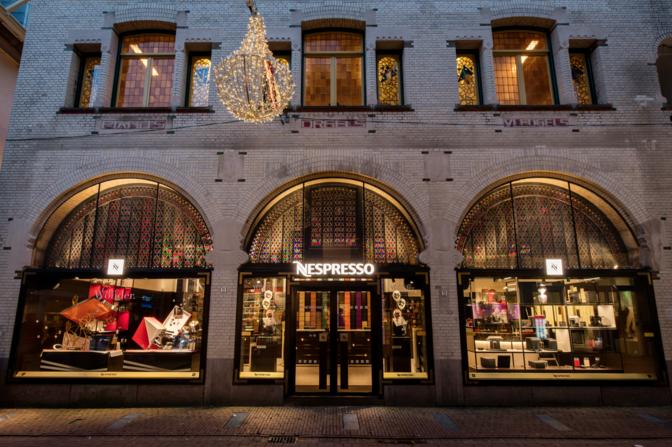 Opening 3e Nespresso Boutique in Amsterdam
