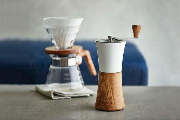 Hario v60 en Hario koffiemolen