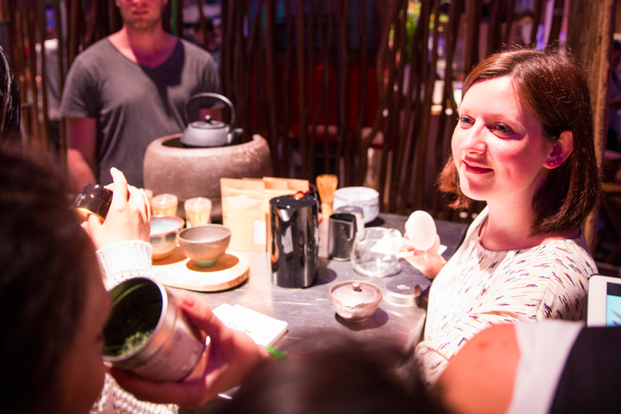 Dutch Tea Festival - matcha workshop
