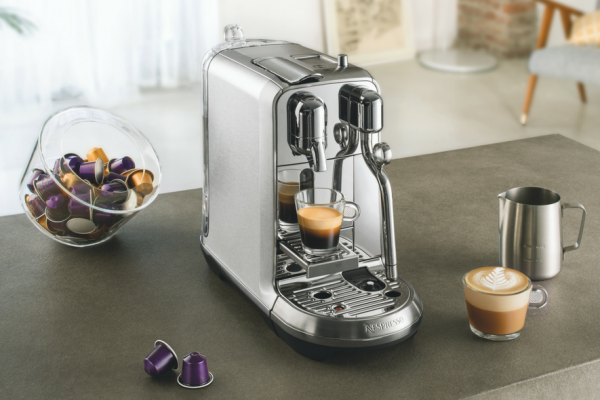 Nespresso creatista website
