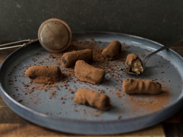 Vegan bakrecept: crispy truffels