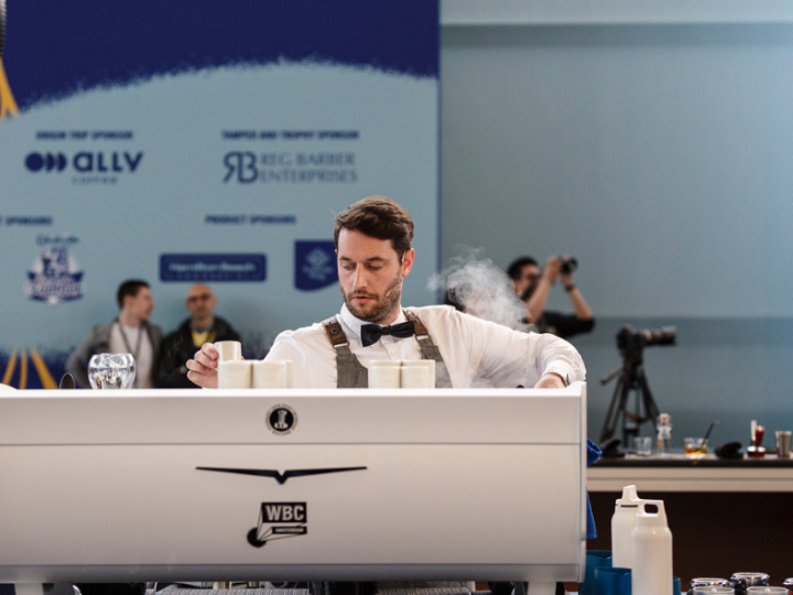 Mathieu Theis en KEEN Coffee opnieuw naar WBC