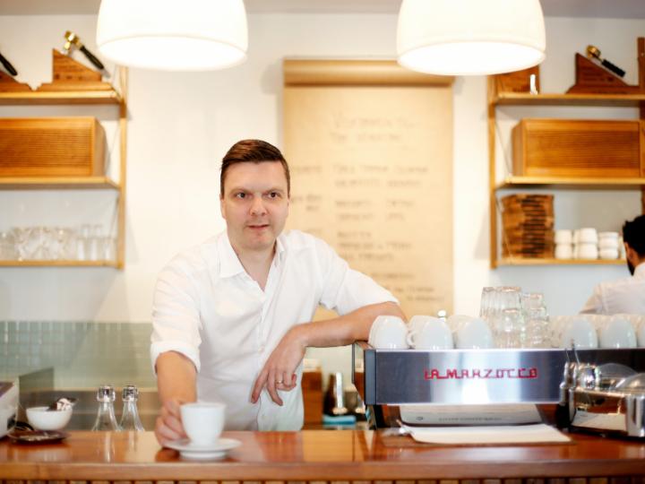 3 vragen aan Noorse koffiepionier Tim Wendelboe