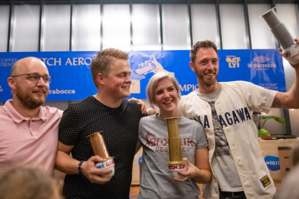 dutch aeropress championship 2019