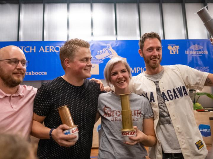 Baristakampioen Wendelien van Bunnik wint Dutch AeroPress Championship 2019