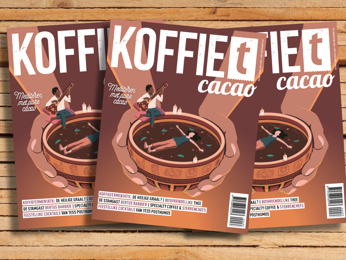 koffieTcacao 33: duurzame thee, cacaoceremonies en koffiefermentatie