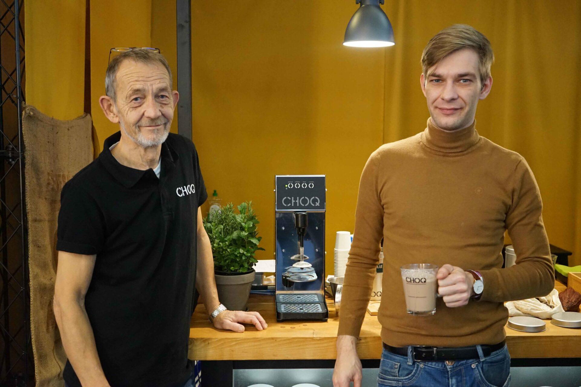Horecava 2020 chocolademelk maken