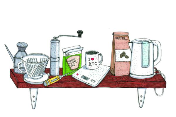 filterkoffie zetten