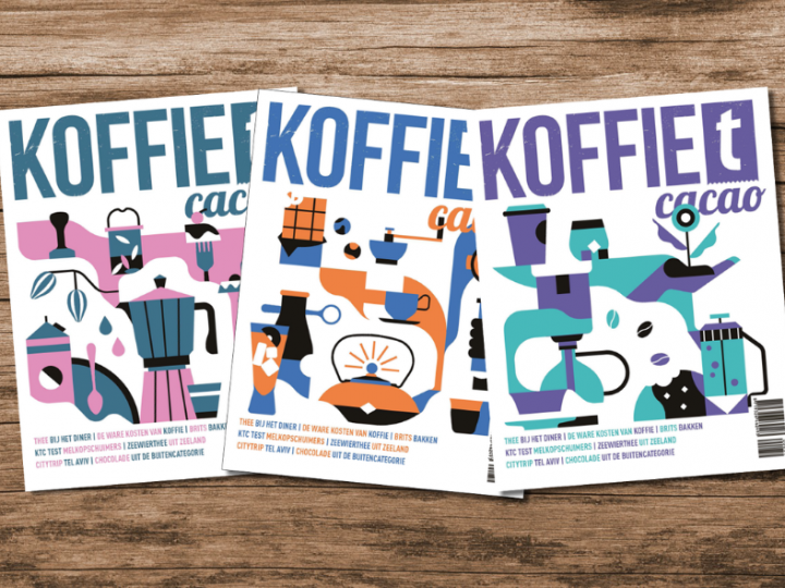 koffieTcacao 34 is uit!