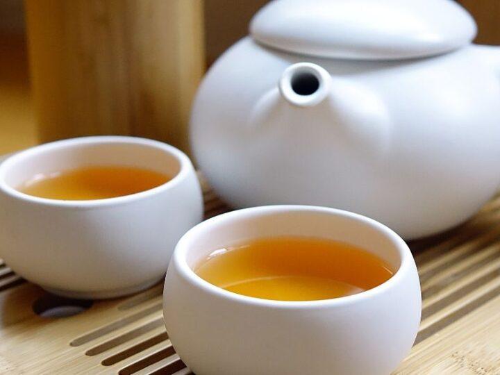 De kunst van thee opschenken