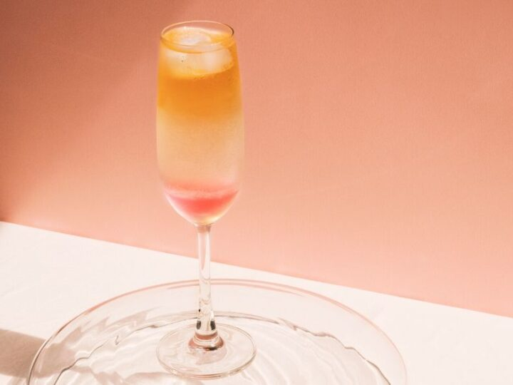Theecocktails: Chester Liao maakt een Rosa Mimosa