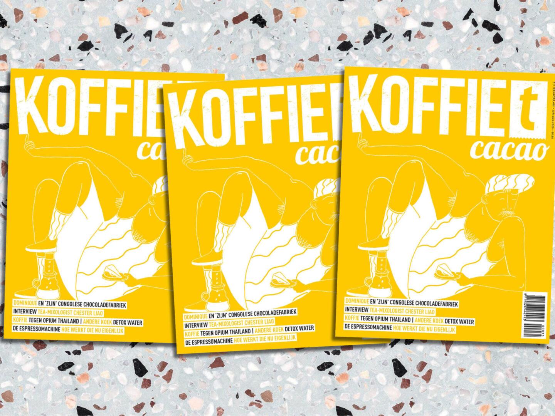 koffieTcacao 35: wijs met ijs, zomerse recepten en tóch op reis