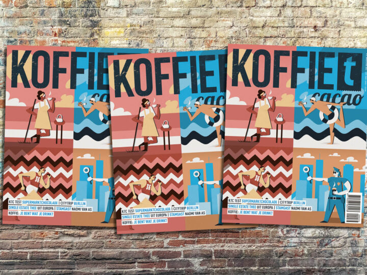 koffieTcacao 36 is uit!
