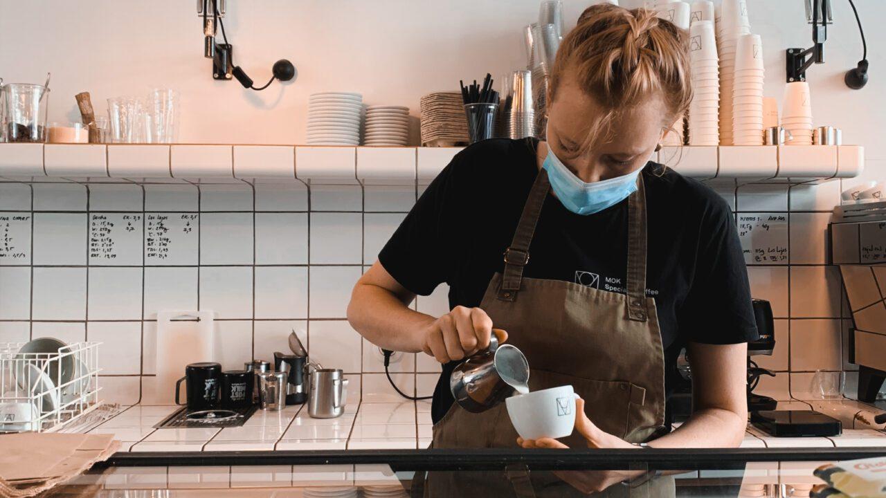 Brussels Coffee Week 2020 barista