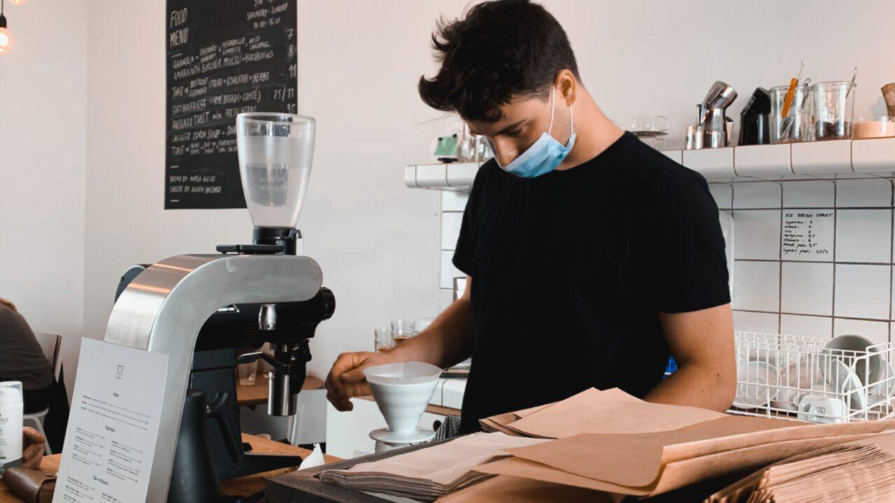 Brussels Coffee Week 2020 Barista 2