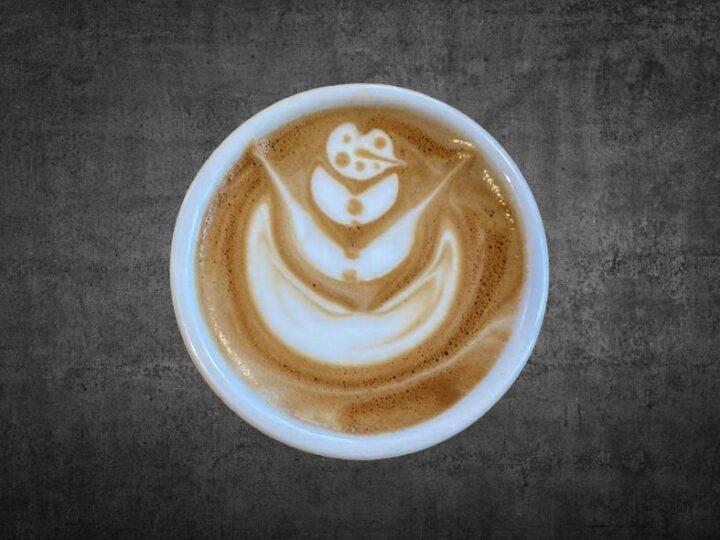 #hoedan: latte art | schenk een sneeuwpop
